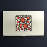 Leopard Print Business Card Case