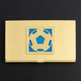 Soccer Business Card Case