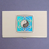 Yin Yang Business Card Holder Case