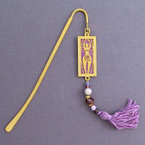 Goddess Bookmark with Beads