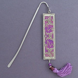 Butterfly Long Engraved Bookmarks