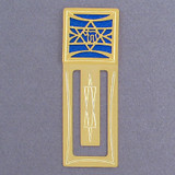 Jewish Star Metal Bookmarks