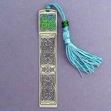 Celtic Knot Bookmark with Tassel