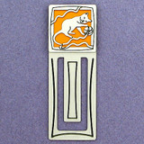 Kitten Engraved Metal Bookmark