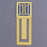 Mission Style Engraved Bookmark