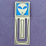 Alien Engraved Bookmark