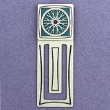 Bike Wheel Engraved Bookmark