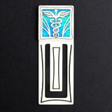 Doctor Engraved Metal Bookmark