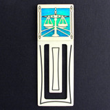 Lawyer  Engraved Bookmark