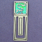 Dollar Sign Engraved Bookmark