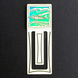 Airplane Engraved Bookmarks
