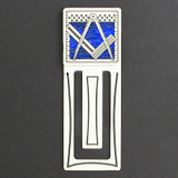 Masonic Engraved Bookmark