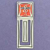 Music Engraved Bookmark