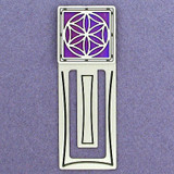 Flower of Life Engraved Bookmark