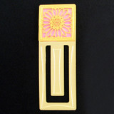 Sunflower Engraved Bookmark