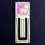 Baby Carriage Engraved Bookmark