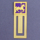 Carousel Horse Engraved Bookmark