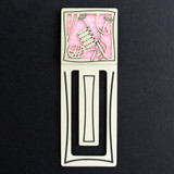 Knitter Engraved Bookmark