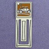 Antique Car Engraved Bookmark