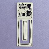Elephant Engraved Bookmark