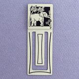 Elephant Engraved Bookmark