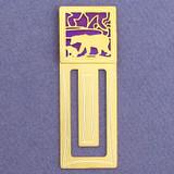 Polar Bear Engraved Bookmark
