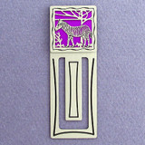 Zebra Engraved Bookmarks