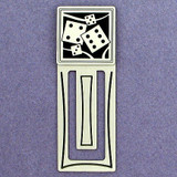 Dice Engraved Bookmark