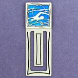 Swimmer Engraved Bookmark