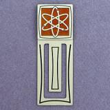 Atomic Engraved Bookmark