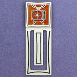 Television Engraved Bookmark