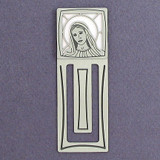Virgin Mary Engraved Bookmark
