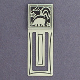 Skunk Engraved Bookmark