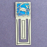 Crab Engraved Bookmark