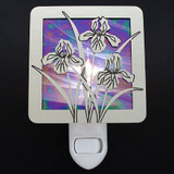 Iris Flower Night Light