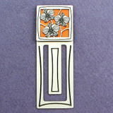 Orchid Engraved Bookmark