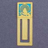 Seashells Engraved Bookmark