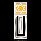 Jewish Shield Engraved Bookmark
