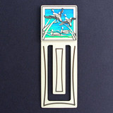 Duck Engraved Bookmark