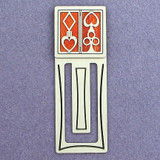 Poker Engraved Bookmark