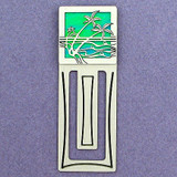 Seashore Engraved Bookmark