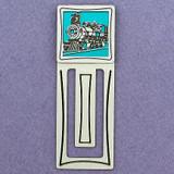 Train Engraved Bookmark
