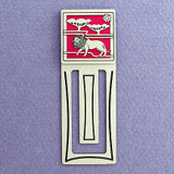 Lion Engraved Bookmark