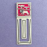 Lion Engraved Bookmark