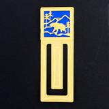 Bear Engraved Bookmark