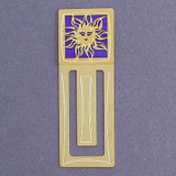 Sun Engraved Bookmark