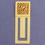 Animal Stripe Engraved Bookmark