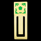 Soccer Engraved Bookmark