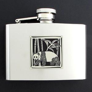 Panda Liquor Flasks 4 Oz