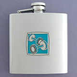 Stainless Steel Personal Trainer Flask 6 Oz. Polished
